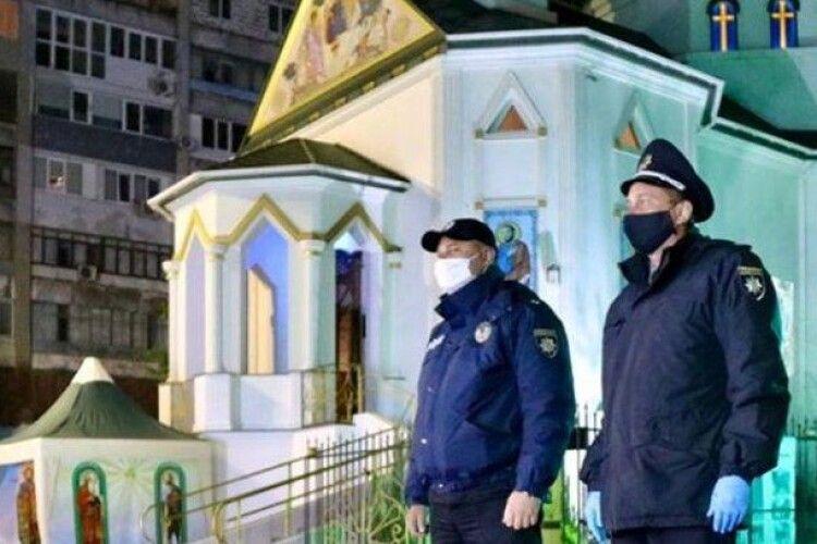 Великодні богослужіння: поліція зафіксувала порушення у 13 областях України