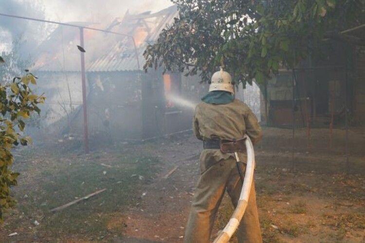 Військовий загинув при ліквідації пожежі