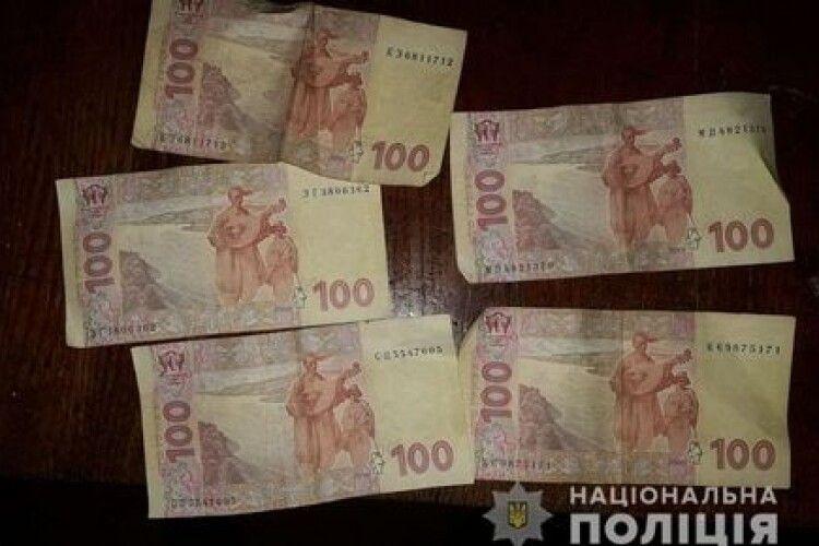 Через п'ятисотку хабаря волинянин заплатить 17 тисяч