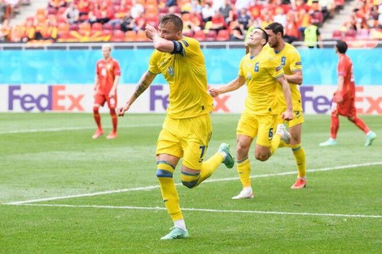 Україна здобуває важливі три очки на Євро-2020