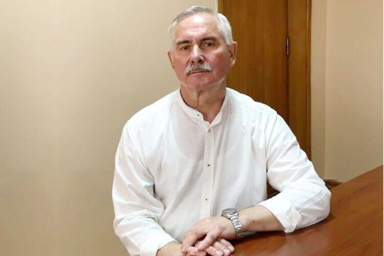 Міський голова Нововолинська Віктор Сапожніков повернувся до роботи після лікування