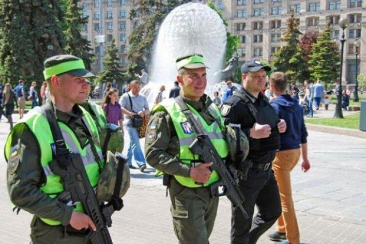 З 1 серпня на вулицях міст з'являться піші патрулі Нацгвардії