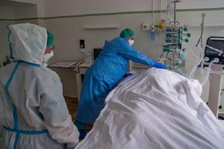 На Волині за добу – аж 5 померлих від коронавірусу