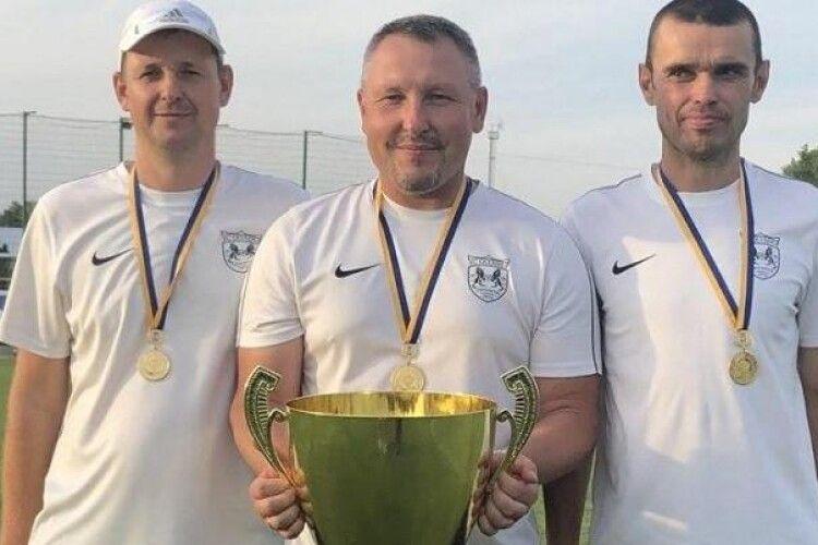 Після матчу на Кубок України головний тренер однієї із команд дав лупня арбітру