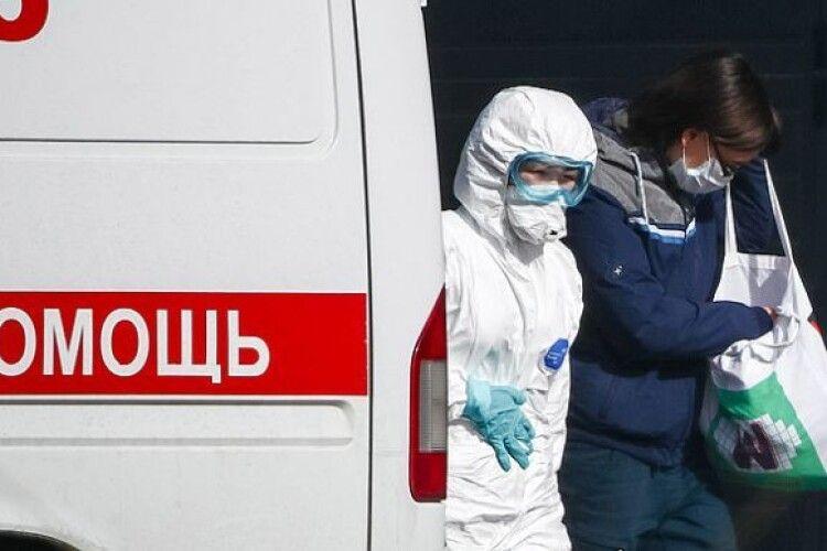 У Росії зафіксували рекорд за кількістю заражень коронавірусом