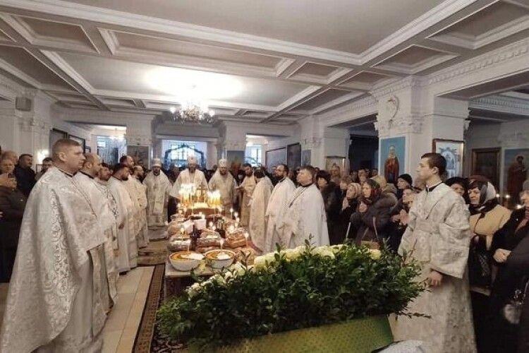 У Тернополі справили роковини за братом митрополита Луцького і Волинського Михаїла (фото)