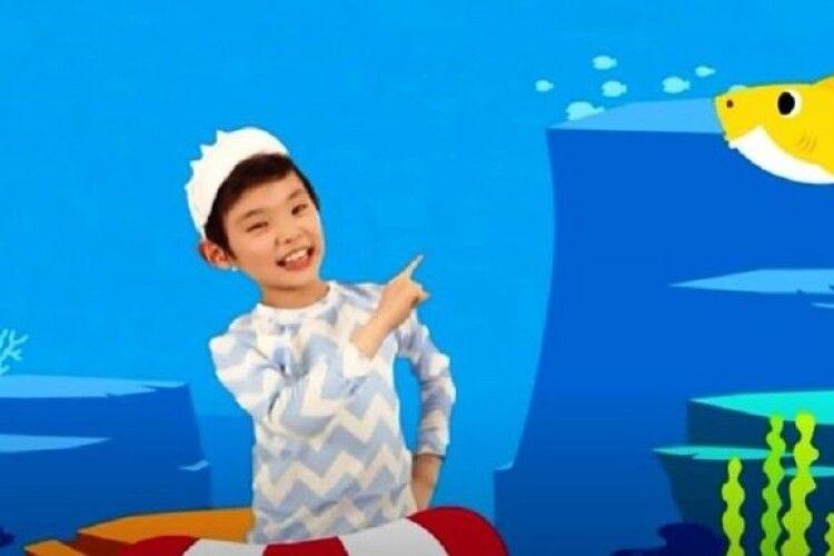 Кліп на дитячу пісню став найпопулярнішим відео на YouTube