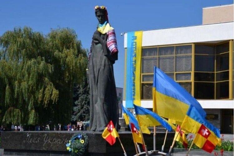 Творець луцької Лесі Українки відзначає 83-ліття