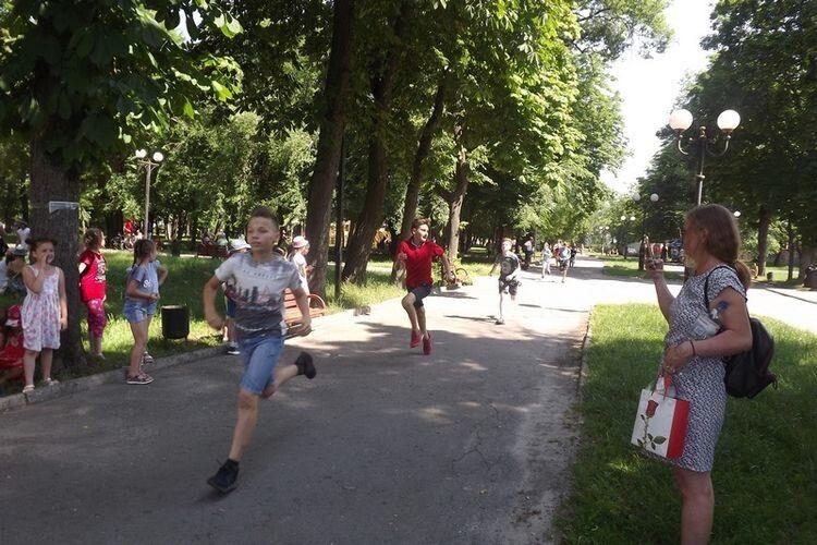 150 школярів взяли участь в Олімпійському дні бігу у Ковелі