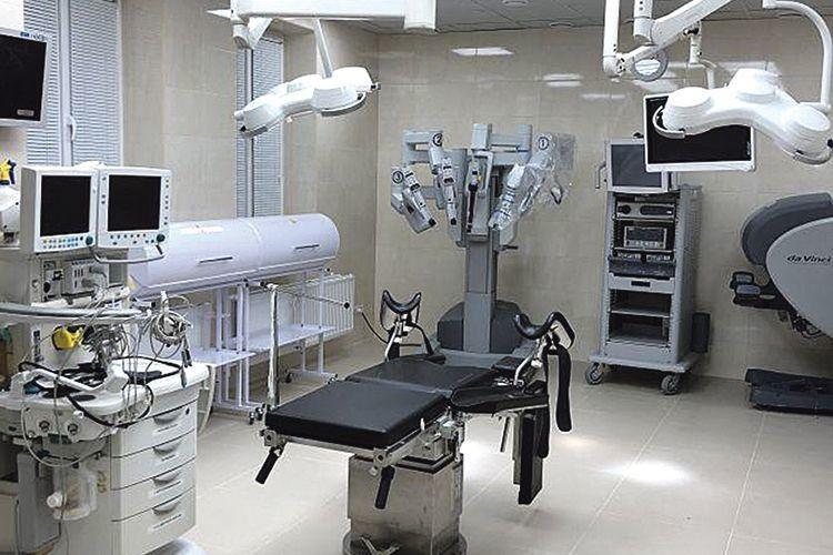 На Вінниччині оперує робот–хірург