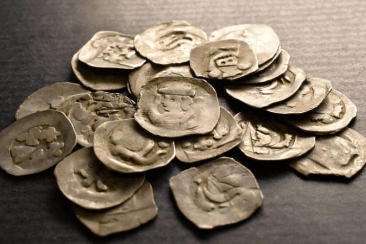 У Словаччині турист знайшов скарб срібних монет XIII-XIV століть під вирваним з коренем деревом