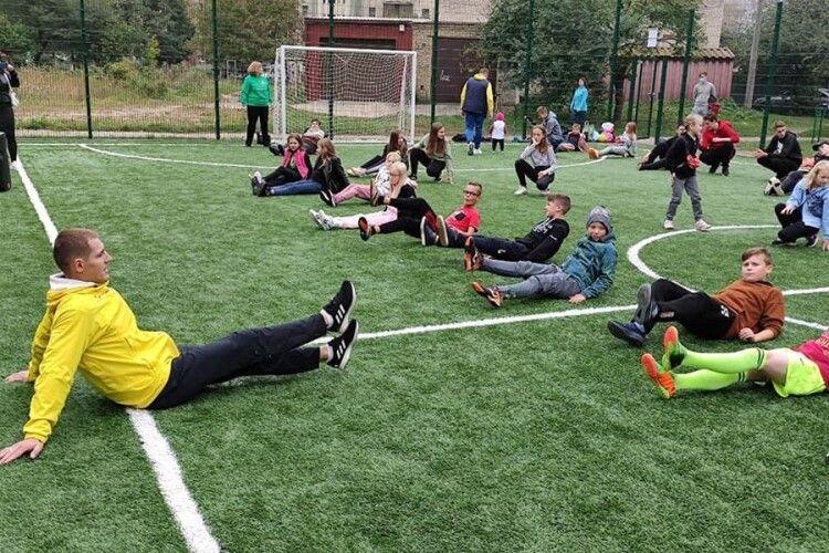 У Луцьку учасник олійпійських ігор провів тренування (Фото)