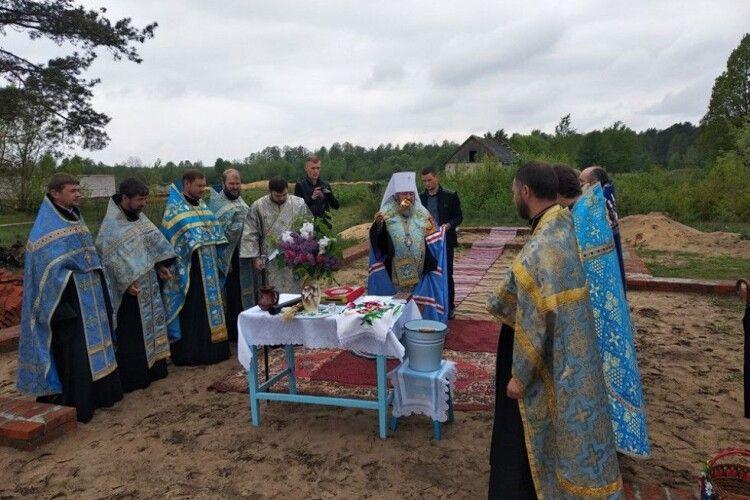 Громада УПЦ (МП) будуватиме церкву у Шацькому районі Волині