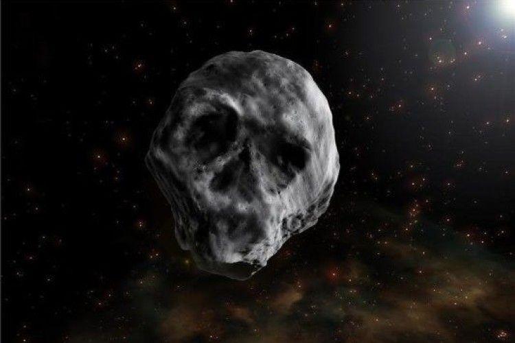 Схожий на череп: до Землі мчить страшний астероїд