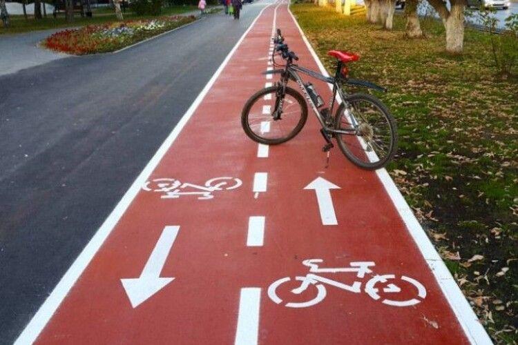 Відомо, де в Луцьку будуватимуть нові велодоріжки