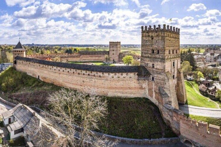Луцький замок втратив близько пів мільйона гривень через карантин