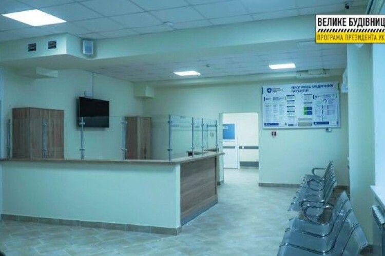 Як виглядає реконструйоване приймальне відділення Луцької міської клінічної лікарні (Фото)