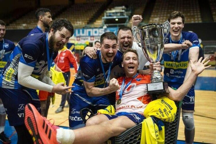 Український волейболіст став чемпіоном Словенії (Фото)