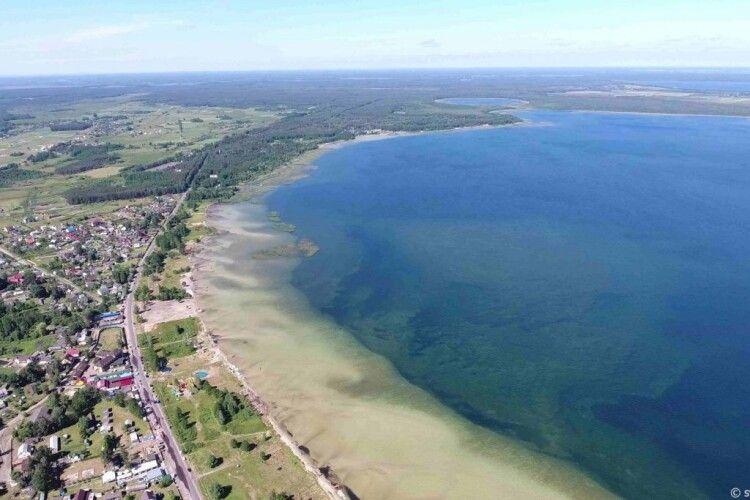 Рівень води в Світязі понизився на 36 сантиметрів