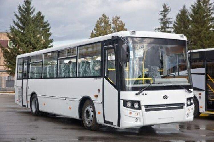 «Антонов» закупить 10 луцьких автобусів