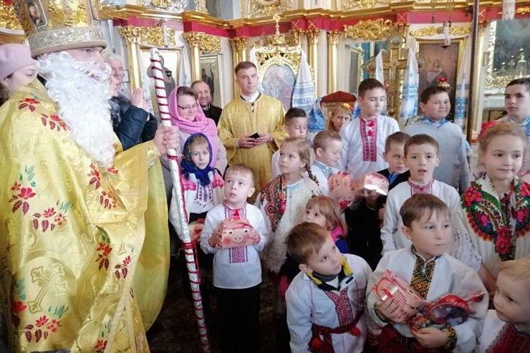 У Горохові подарунки отримали всі маленькі церковники!