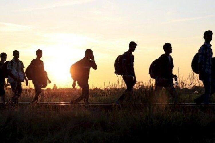 Як сирійці йдуть в країни ЄС (Фото)