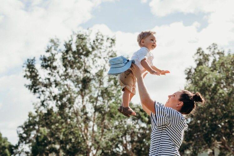 Робитися щасливою мамою