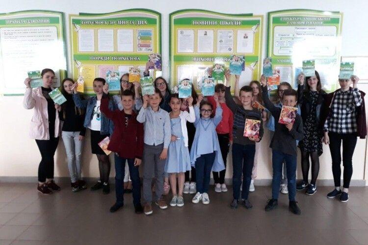 Школярі з нашої громади — учасники Всеукраїнської гри