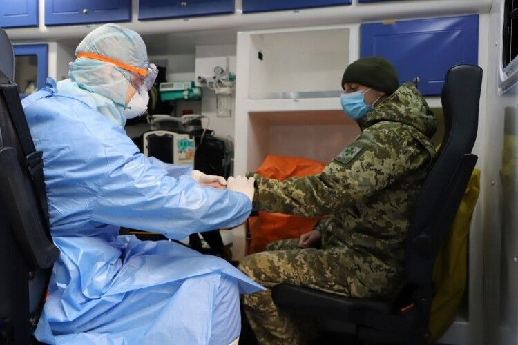 Серед військовослужбовців Держприкордонслужби зафіксовано перший випадок захворювання на COVID-19