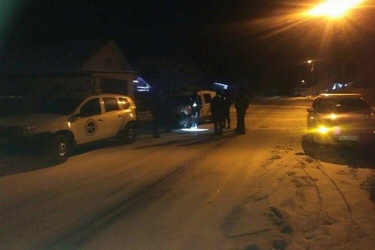 На Волині затримали п'яного працівника охоронної фірми за кермом службового авто