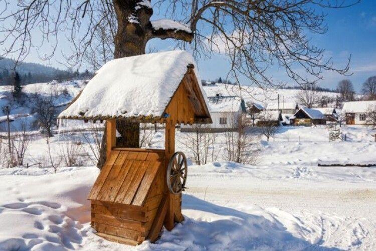 Погода на середу, 9 грудня: аби дізнатися, якою буде зима, прислухайтеся до води в криниці
