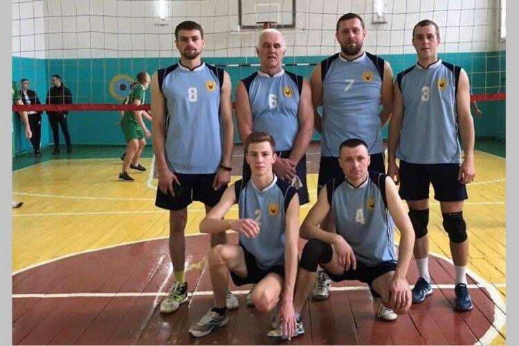 Хто найсильніший з волейболу на Волинському Поліссі