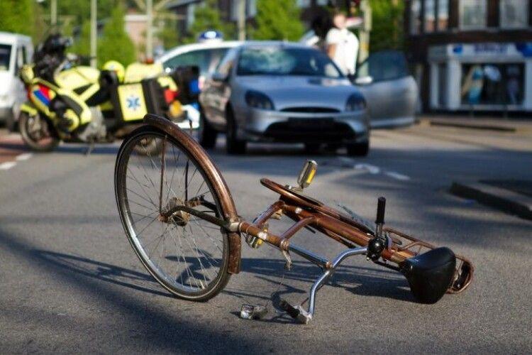 На Волині авто збило велосипедистку (Відео)