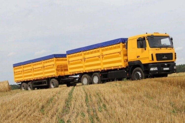 На дорогах Миколаївщини кожна п'ята фура везе вісім і більше тонн зайвого вантажу