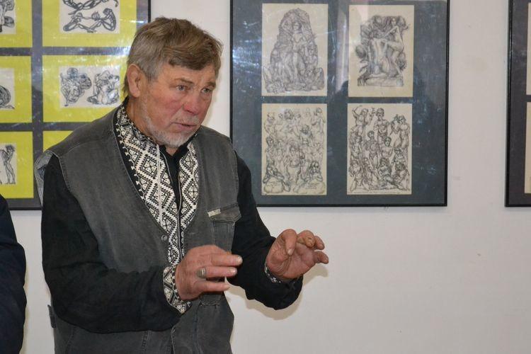 Микола Головань: «Деяких малюнків сина навіть я досі не бачив»