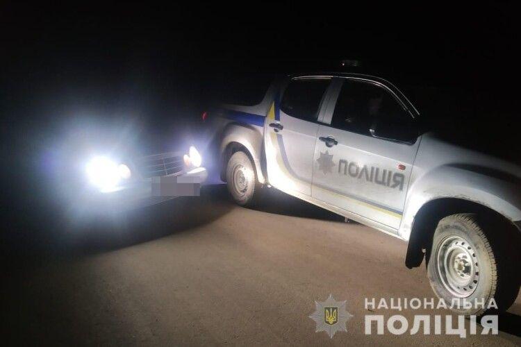 П'яний волинянин на «Мерседесі» хотів відкупитись в горохівських поліцейських сотнею євро (Фото)