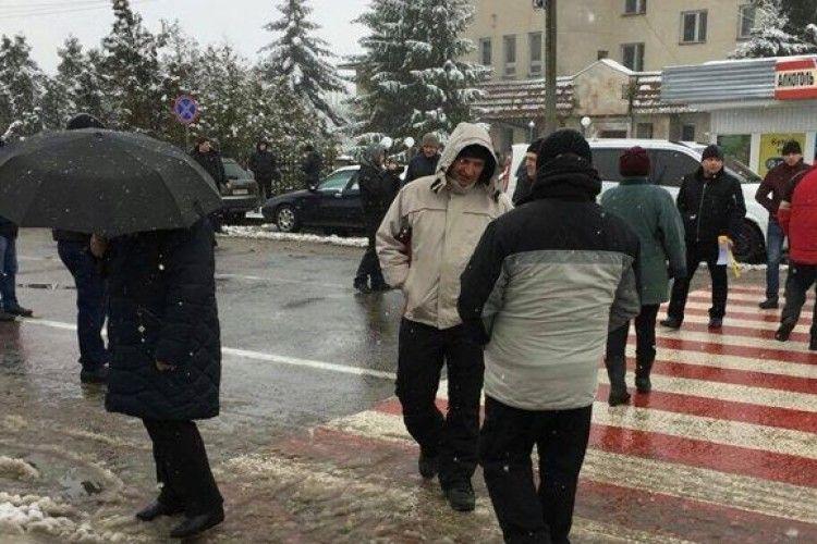На кордоні з Польщею почалися акції протесту