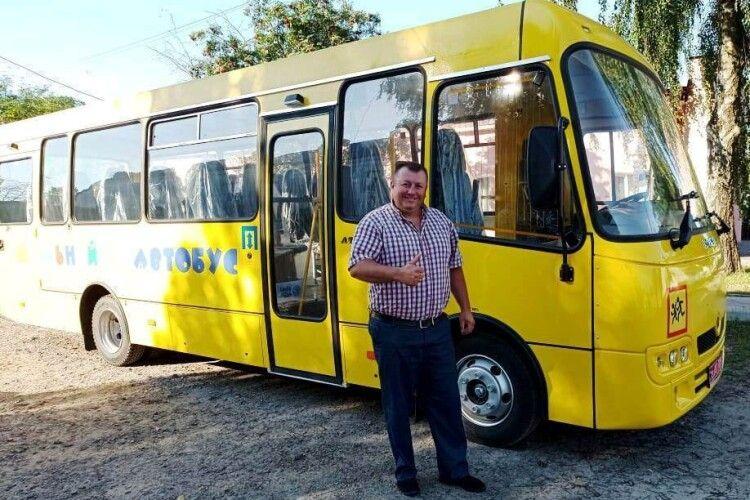 Любешівська селищна рада оновила автопарк закладів освіти