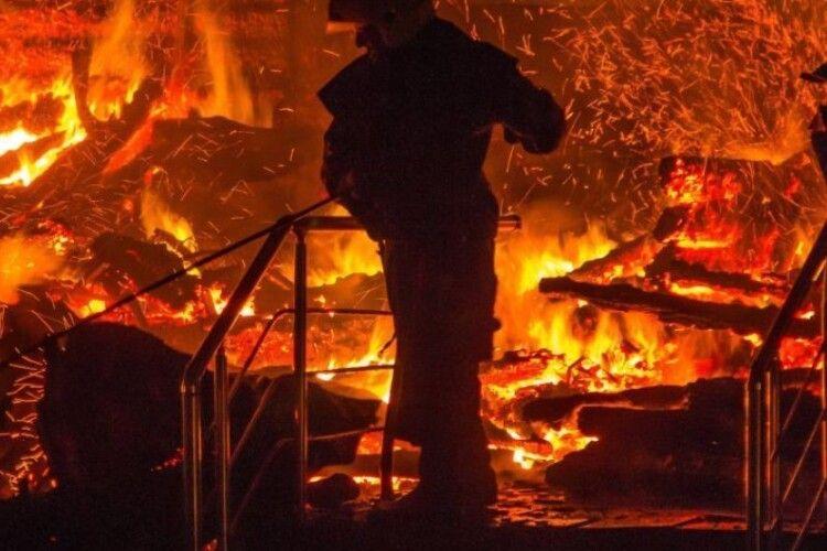 Повідомили про причину пожежі на Волині, в якій згоріло двоє людей