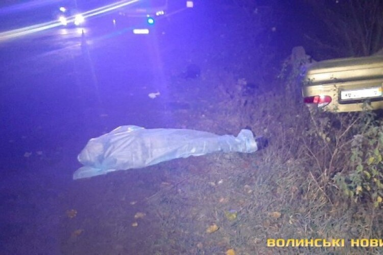 На Волині загинув водій легковика (Фото)