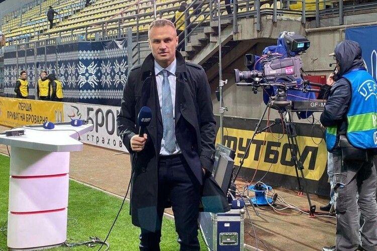 Лучанин В'ячеслав Шевчук вибачився перед поліцією та футбольною Україною за свій вчорашній грандіозний алкодебош у Києві