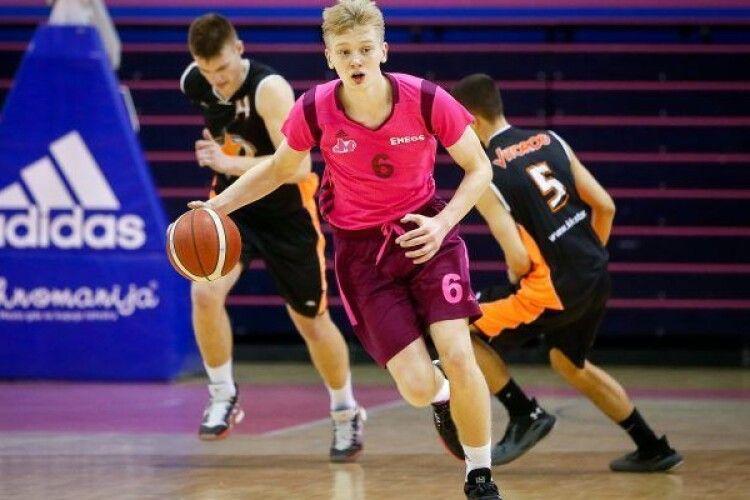 Український баскетболіст зіграв у фіналі юнацької Євроліги