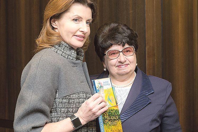 Як наша землячка зустрілася  в Єрусалимі з Мариною Порошенко