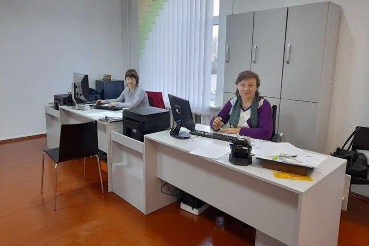Торчинський ЦНАП отримав комп'ютери з Європи