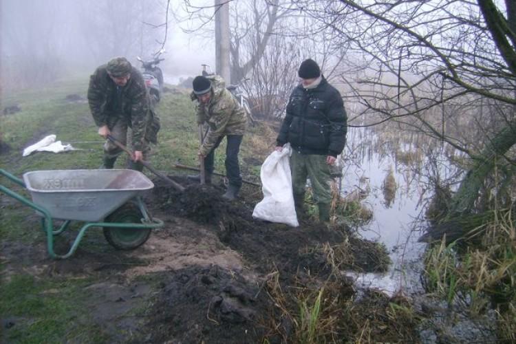 На Любешівщині — зимова повінь