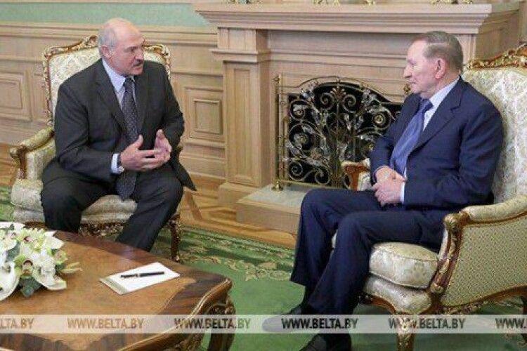 Лукашенко до Кучми: «Політика тебе ніяк не відпускає. Але це на краще»