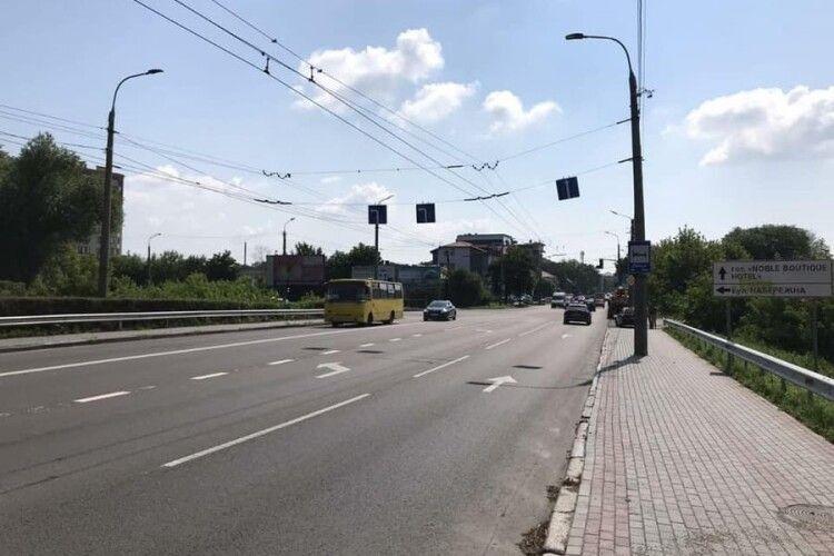 У Луцьку вдосконалили схему руху на проблемному перехресті