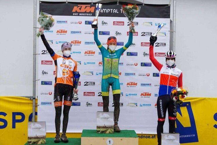 Лучанка здобула золото на міжнародній гонці