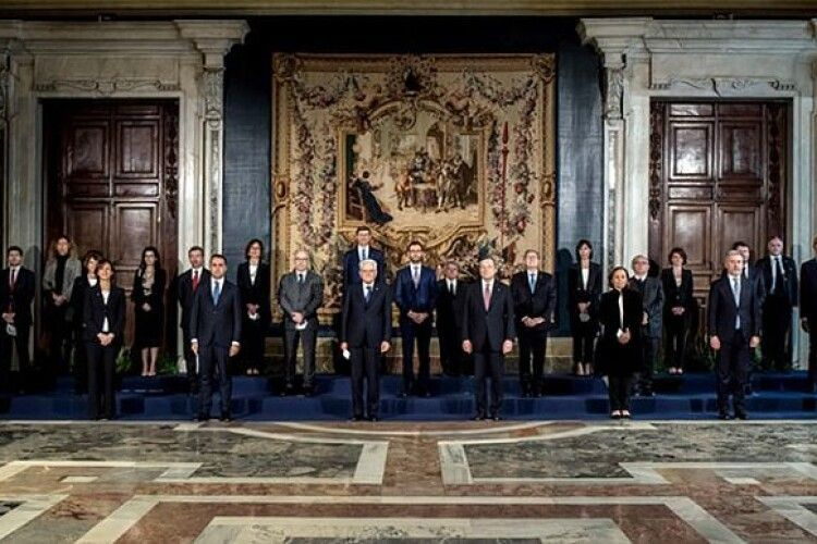В Італії склав присягу уряд Маріо Драгі