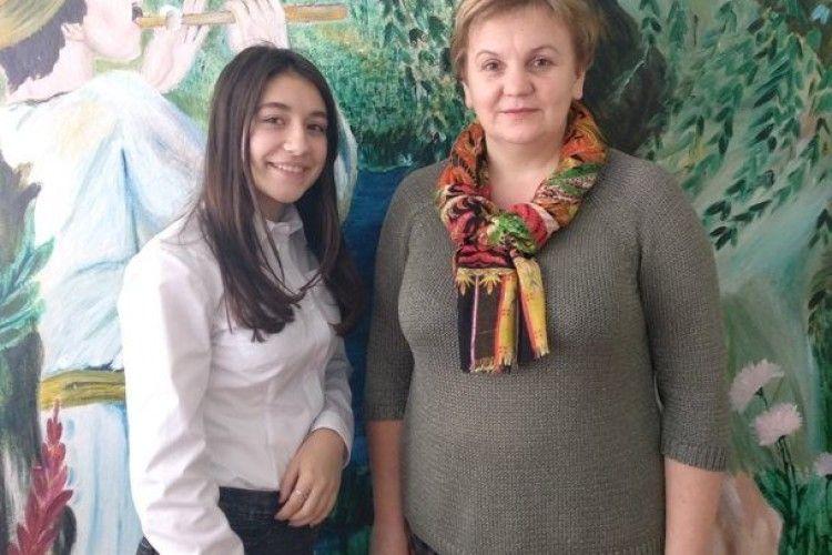Ковельська школярка на конкурсі екскурсоводів музеїв навчальних закладів здобула друге місце